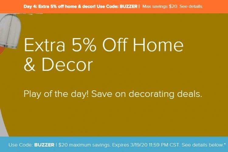 Save 5% On Home & Decor Gift Cards