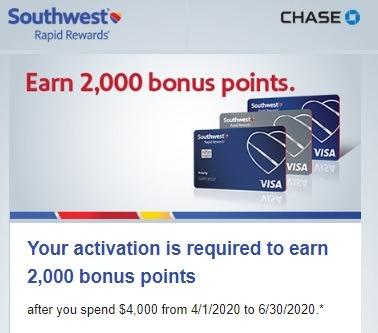 Cardholders Earn 2,000 Bonus Points w/ $4,000+ Spend