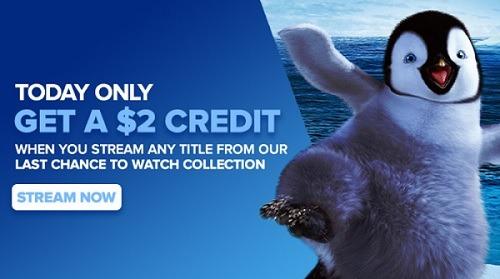 Vudu Credit Free Movies