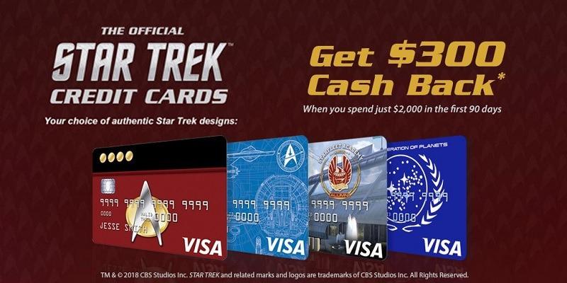NASA Federal Credit Union Star Trek Credit Card