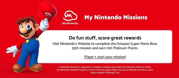Get 100 Free My Nintendo Platinum Points