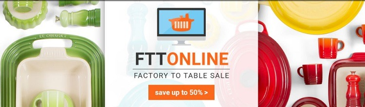 Up to 50% Off Cookware, Bakeware, Kitchen Tools FTT Sale