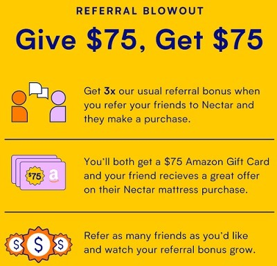 Nectar Referral Blowout