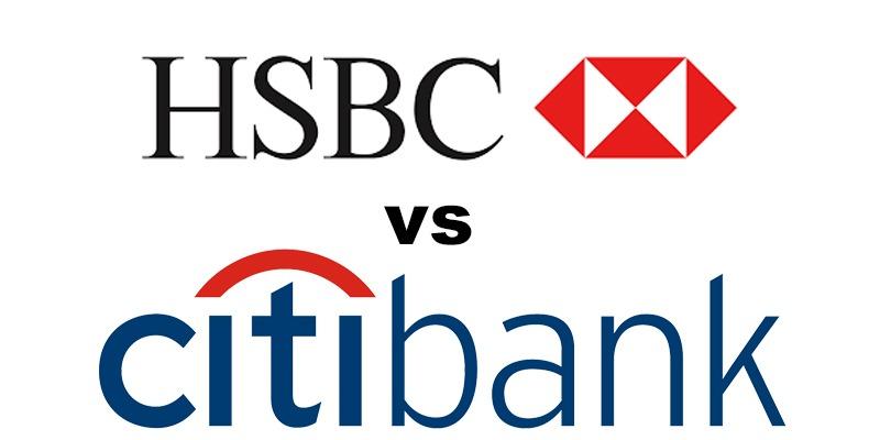 HSBC Bank vs Citibank