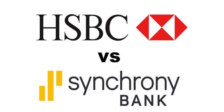 HSBC Bank vs Synchrony Bank