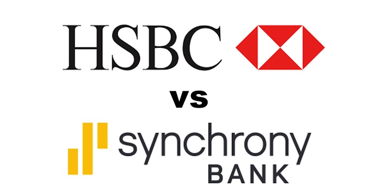 HSBC Bank vs Synchrony Bank