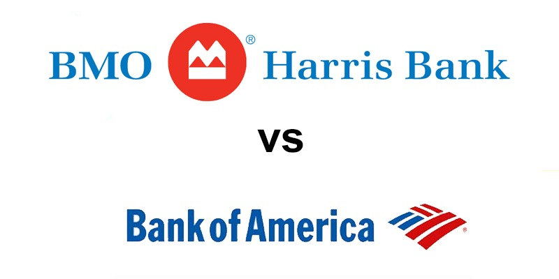 BMO Harris Bank vs Bank of America: Which Is Better?