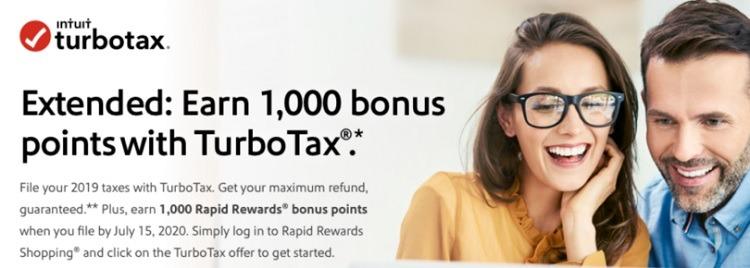 1,000 Bonus Points w/ TurboTax