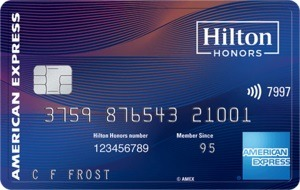 Hilton Honors American Express Aspire Card Bonus
