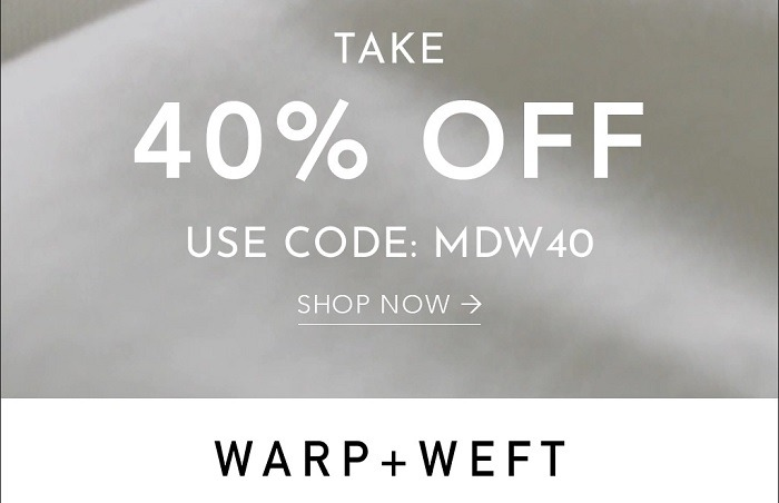 40% Off Full Priced Products Coupon