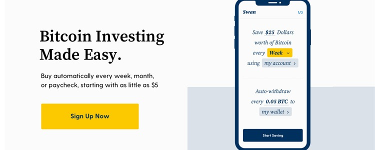 Swan Bitcoin Promotions