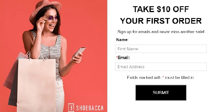 $10 Off First Order w/ Email Sign-Up