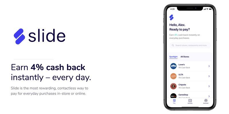 Slide app promotions