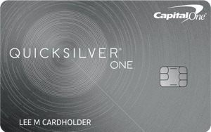 capital one quicksilverone card cash back