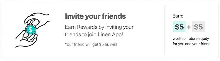Linen app Promotions