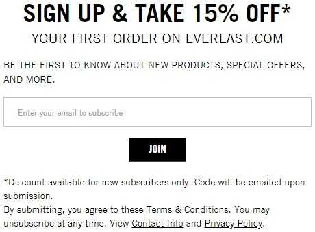 Get 15% Off w/ Email Sign-Up