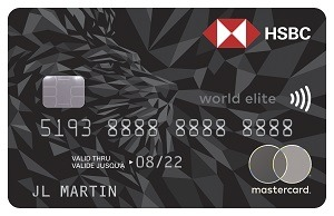 HSBC World Elite Mastercard Bonus