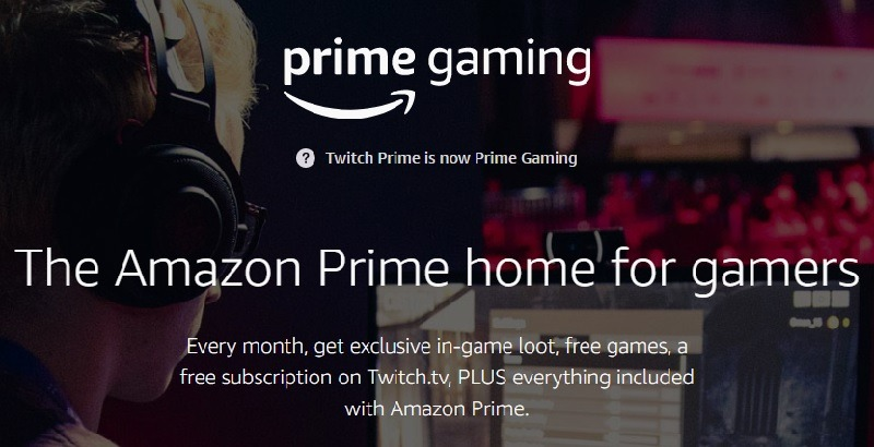 Amazon Prime Gaming Promotions