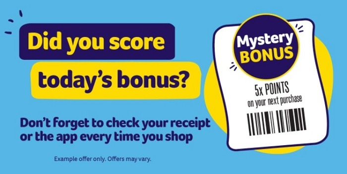 Up to 40x Points Mystery Bonus Coupon