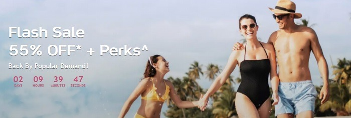 55% Off + Perks on All Inclusive Winter Vacation Flash Sale