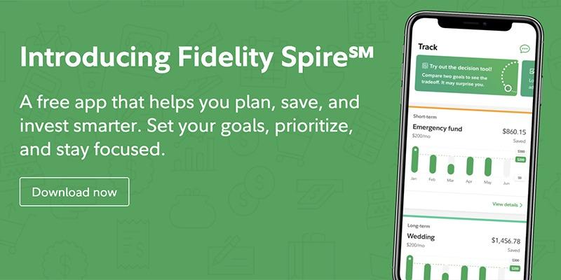 Fidelity Spire Promotions