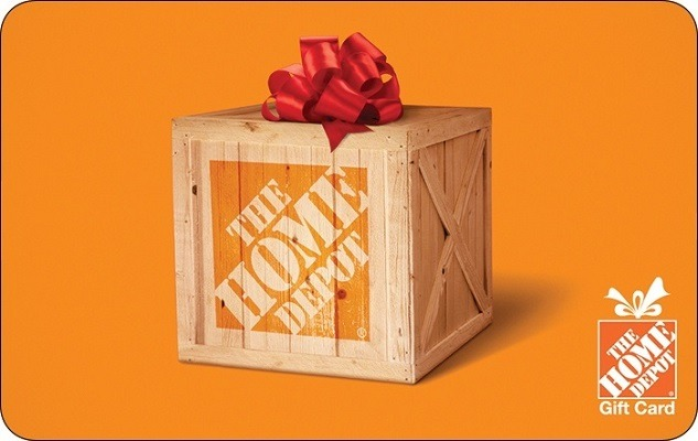 Get 10% Off Home Depot Gift Cards