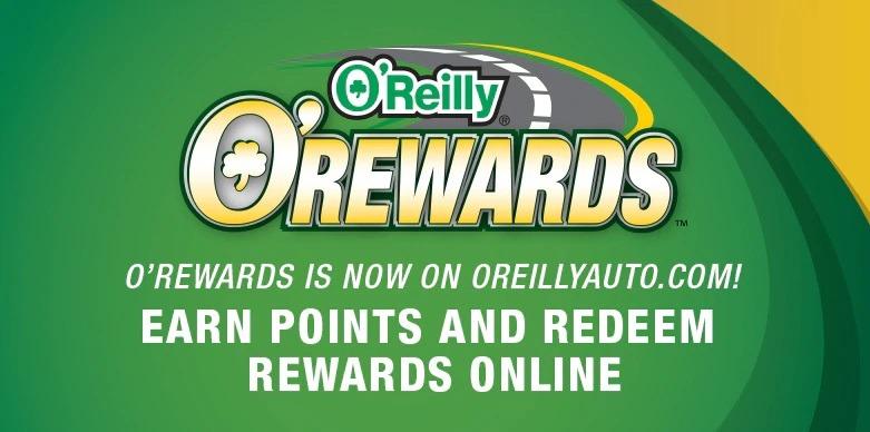 oreilly rewards program