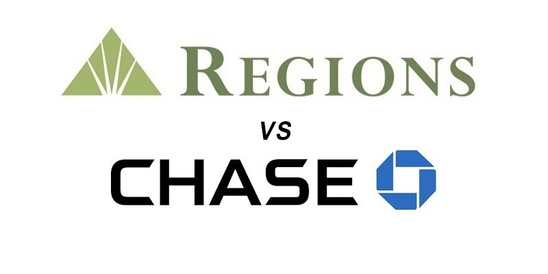 Regions Bank vs Chase: Which Is Better?