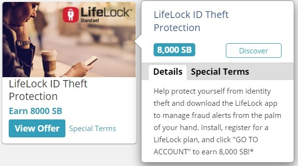 Get 8,000 SB w/ LifeLock Sign Up