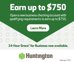 Huntington Business Checking Bonus