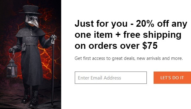 Get 20% Off w/ Email Sign-Up