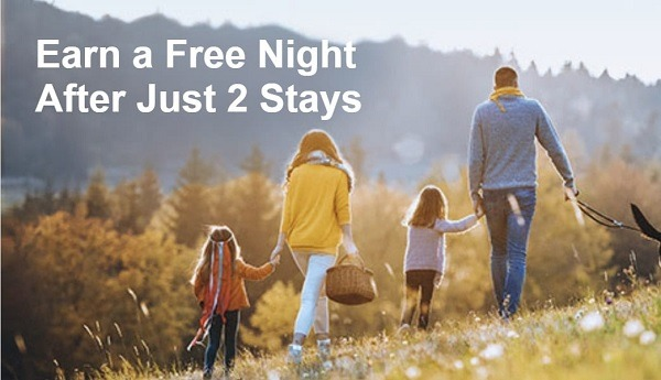 Earn Free Night After Two Stays