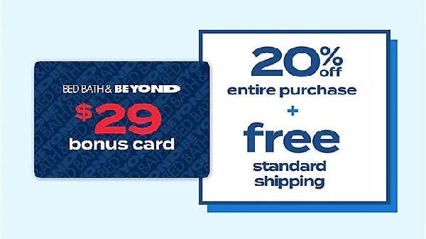 Get $29 Bonus Card w/ BEYOND+ Enrollment
