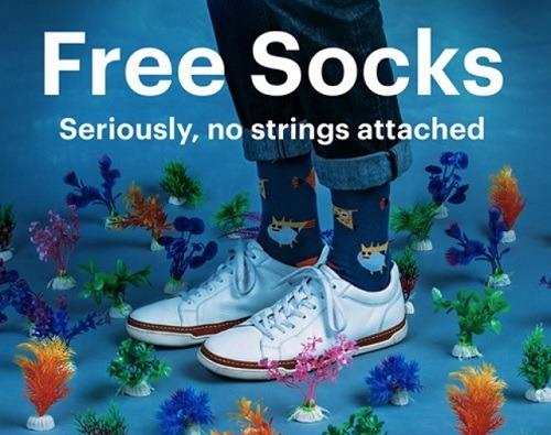 Free Pair of Socks