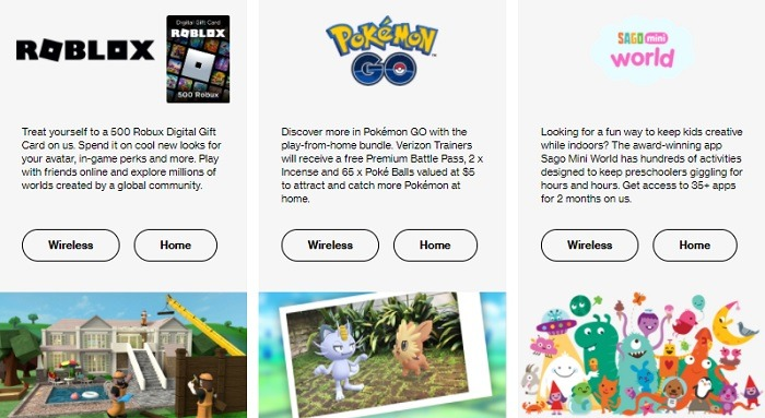 Freebies for Roblox, Pokémon Go, Saga Mini World