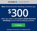 Chase Business  Bonus Coupon