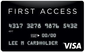 First Access Visa Credit Card