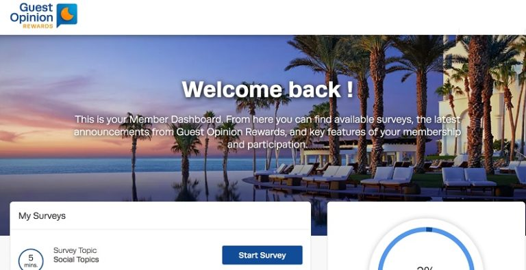 Guest Opinion Rewards Promotions