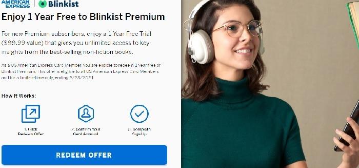 Free 1-Year Blinkist Premium Subscription