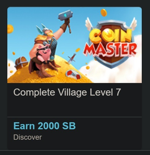 Earn 2,000 Points w/ Coin Master App Install & Completing Village Level 7