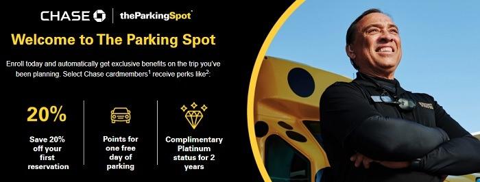 20% Off The Parking Spot Reservation