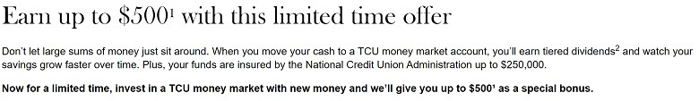 Thrivent Federal Credit Union Promotions