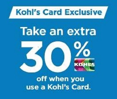 Khol's Card Exclusive