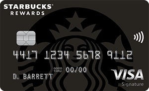 Starbucks Rewards Visa Credit Card Bonus