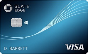 Chase Slate Edge Card Bonus