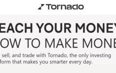 Tornado.com (Formerly NVSTR) Promotions: Earn Up To $1,000 Free Cash Sign-Up & Referral Bonuses