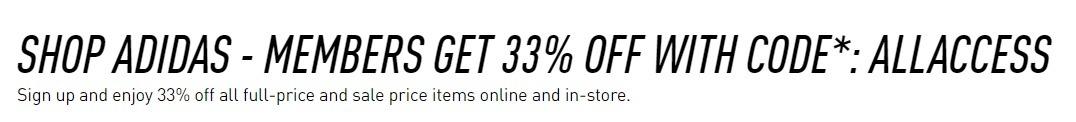 adidas 33%